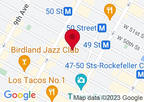 Ethel Barrymore Theatre Google Maps Location