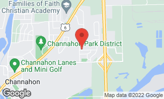 Map of 24322 West Hummingbird Drive CHANNAHON, IL 60410