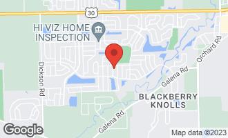 Map of 2438 Prescott Drive MONTGOMERY, IL 60538