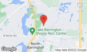 Map of 24381 North Grandview Drive LAKE BARRINGTON, IL 60010