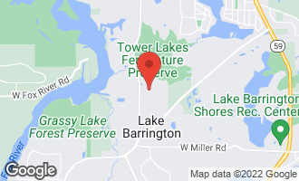 Map of 24413 N. Blue Aster Lane LAKE BARRINGTON, IL 60010