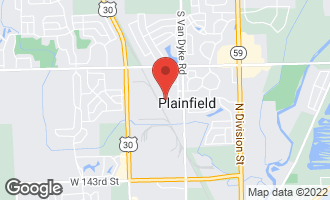 Map of 24434 Kennedy Circle PLAINFIELD, IL 60544