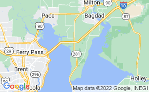 Map of Avalon Landing RV Park