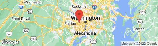 Map of 2447 OHIO STREET N ARLINGTON, VA 22207