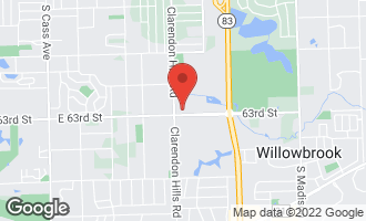 Map of 245 Windsor Lane D WILLOWBROOK, IL 60527