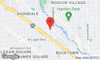Map of 2450 West Diversey Avenue West #1 CHICAGO, IL 60647