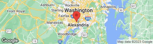 Map of 2451 MIDTOWN AVENUE #319 ALEXANDRIA, VA 22303