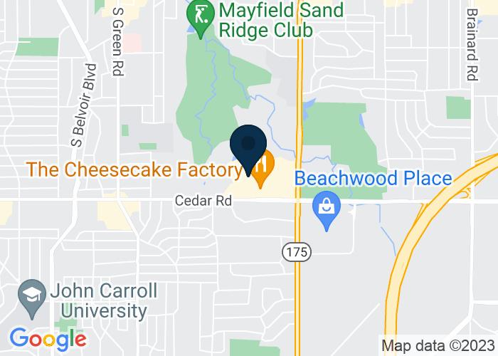 Map of 24519 Cedar Road, Lyndhurst, OH 44124, United States