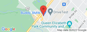 Google Map of 2454+South+Service+Road+West%2COakville%2COntario+L6L+5M9