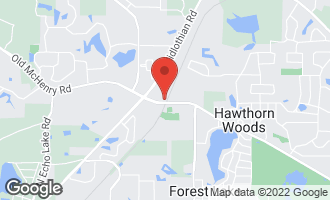 Map of 24570 North Old Mchenry Road HAWTHORN WOODS, IL 60047
