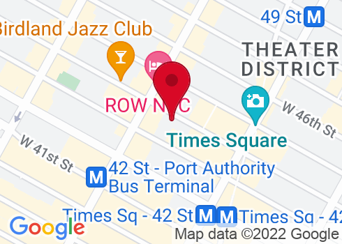 St. James Theatre Google Maps Location
