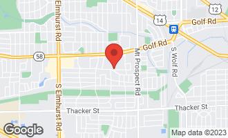 Map of 246 Dulles Road DES PLAINES, IL 60016