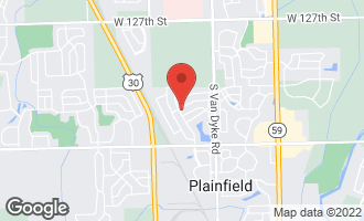 Map of 24611 Tufton Street PLAINFIELD, IL 60585