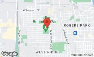 Map of 2462 West Estes Avenue #2 CHICAGO, IL 60645