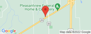 Google Map of 2464+Highway+20%2CFonthill%2COntario+L0S+1E0