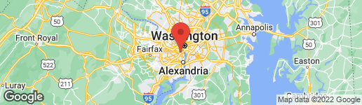 Map of 2465 ARMY NAVY DRIVE 1-206 ARLINGTON, VA 22206