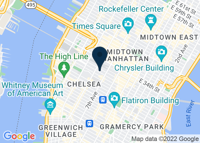 Map of 247 W. 30th Street (Near MSG), New York, NY 10001, United States