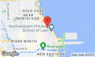 Map of 247 East Chestnut Street #1604 CHICAGO, IL 60611
