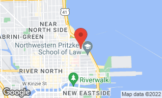 Map of 247 East Chestnut Street #501 CHICAGO, IL 60611