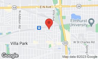 Map of 247 East Maple Avenue VILLA PARK, IL 60181