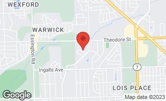 Map of 2470 Red Oak Trail L CREST HILL, IL 60403