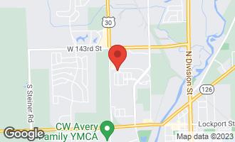 Map of 24702 George Washington Drive PLAINFIELD, IL 60544