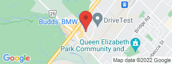 Google Map of 2474+South+Service+Road+West%2COakville%2COntario+L6L+5M9