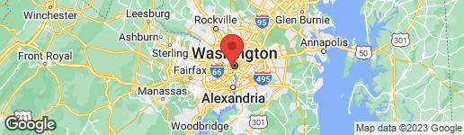 Map of 2475 VIRGINIA AVENUE NW #610 WASHINGTON, DC 20037
