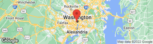 Map of 2475 VIRGINIA AVENUE NW #813 WASHINGTON, DC 20037