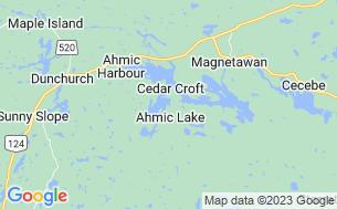 Map of Camp Klahanie