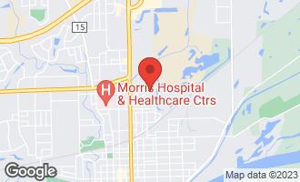 Map of 249 Robinson Drive MORRIS, IL 60450