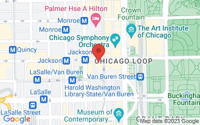 Map of Loop Office - Lewis Suite 1250
