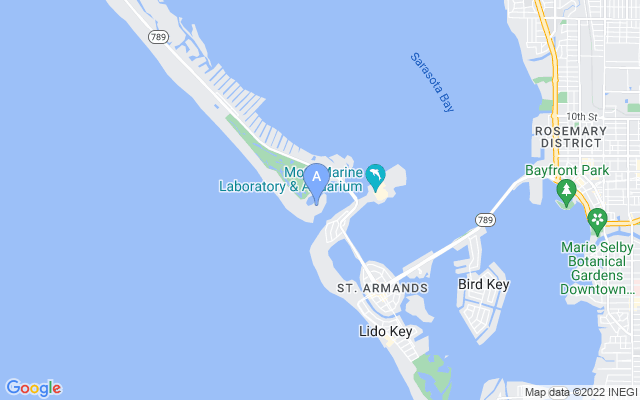 25 Lighthouse Point Dr Longboat Key Florida 34228 locatior map