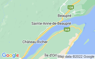 Map of Camping Lac Aux Flambeaux