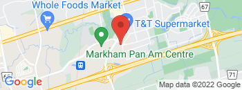 Google Map of 25+South+Unionville+Avenue%2CMarkham%2COntario+L3R+6B8