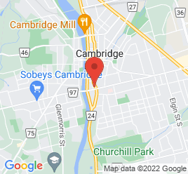 Google Map of 25+Veterans+Way%2CCambridge%2COntario+N1R+3K8