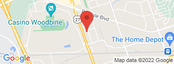 Google Map of 25+Vice+Regent+Blvd%2CRexdale%2COntario+M9W+6N2