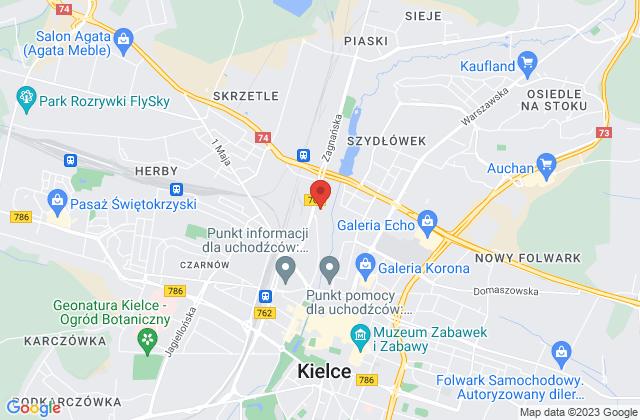 Wyświetl Dariusz Pęczkowicz,Studio Kominki na mapie