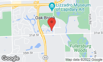 Map of 25 Forest Gate Circle OAK BROOK, IL 60523