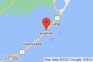 Map of Tavernier
