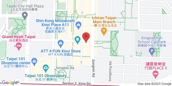 Barcode酒吧地圖
