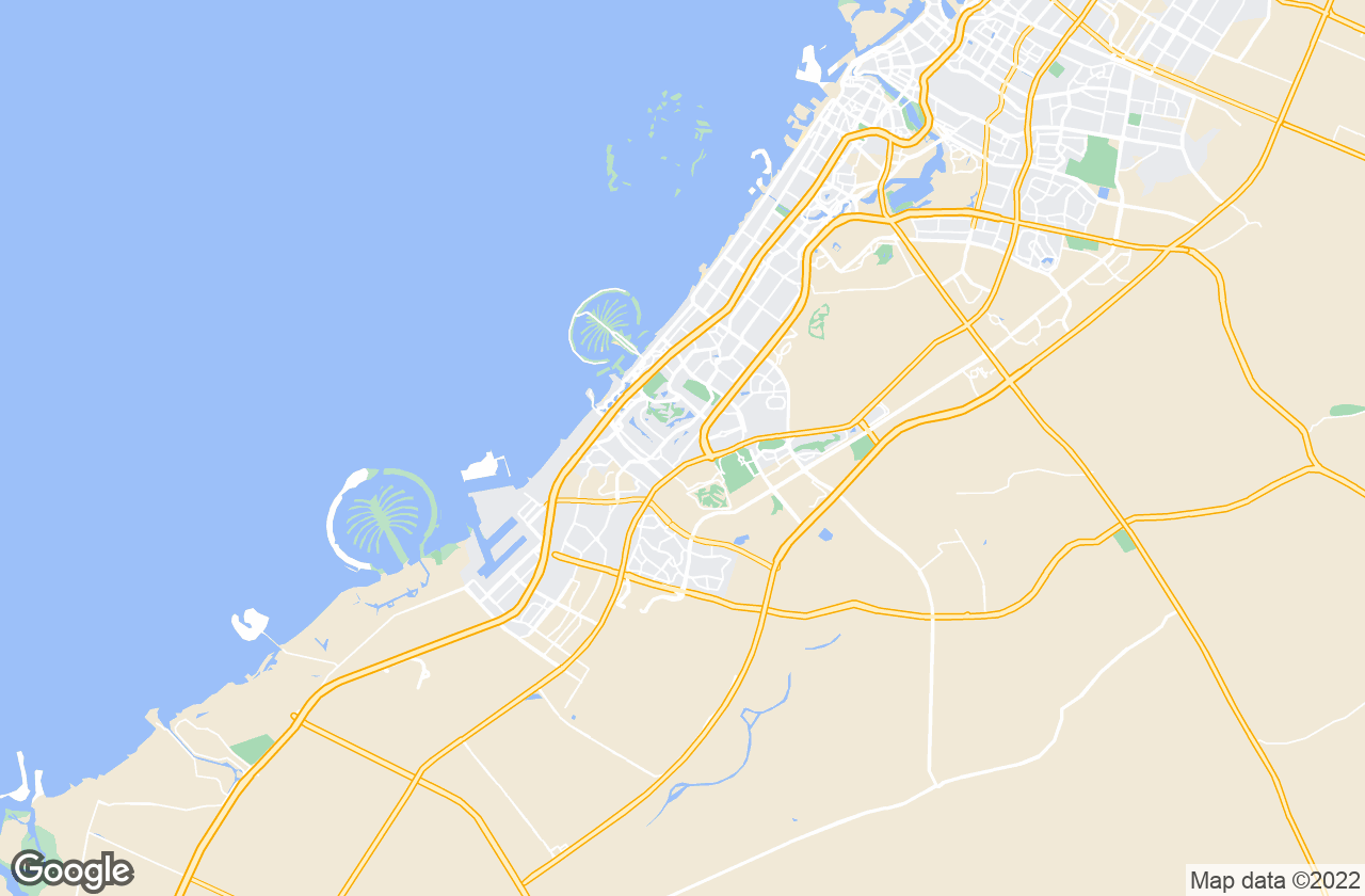 Google Map of دبي
