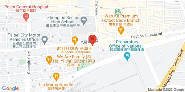Pasoul夜店地圖