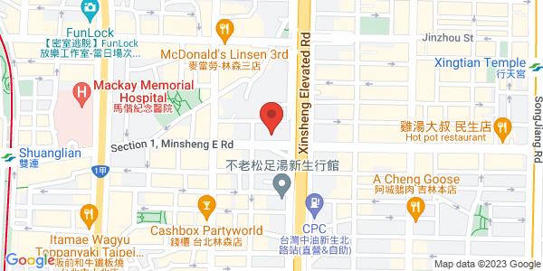 M男模夜店地圖