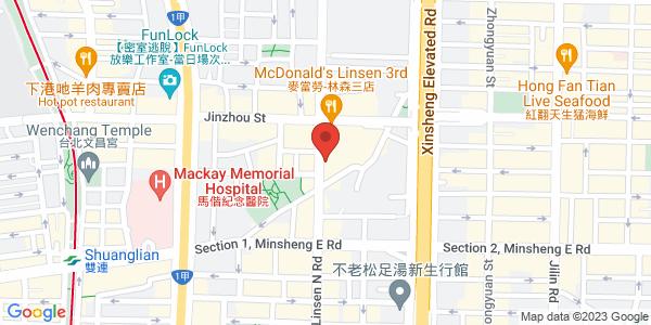 金昌酒店夜店地圖