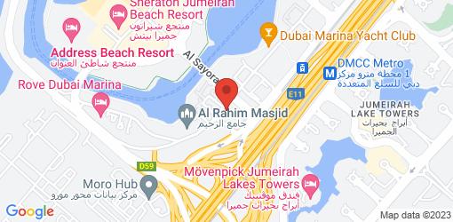 Directions to Saarangaa Bhojan Shala Dubai Marina