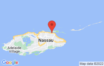Map of Nassau and Paradise Island