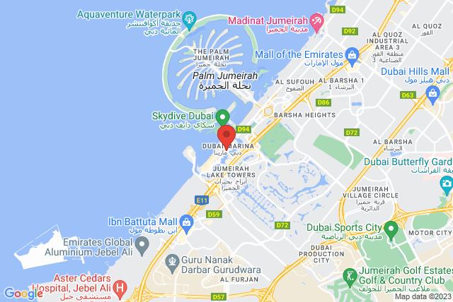 Exhale Fitness Studio Map