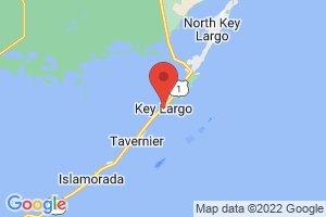 Map of Key Largo