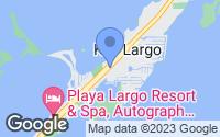 Map of Key Largo, FL